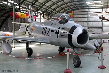 North American F-86F Sabre - C.5-58/102-4 - Spanish Air Force