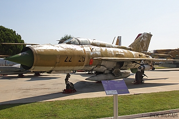 Mikoyan-Gurevich MIG-21 Fishbed - 22-26 - German Air Force