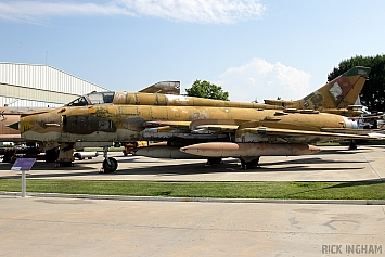 Sukhoi Su-22M4 Fitter - 25+18 - German Air Force