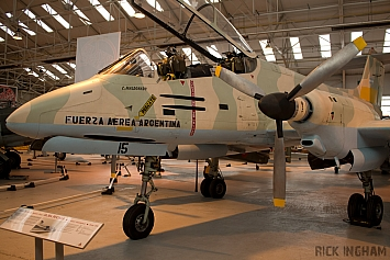 FMA IA-58A Pucara - ZD485/A-515 - A&AEE/Captured Argentine Air Force