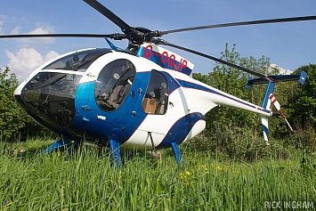 MD Helicopters MD-500E - G-OGJP - MJ Church