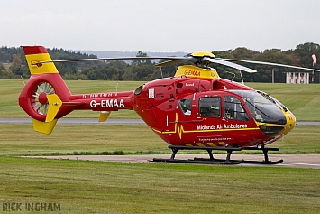 Eurocopter EC135T2 - G-EMAA - Midlands Air Ambulance