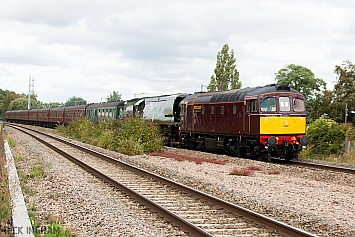 Class 33 - 33029 + 34067 'Tangmere' - WCRC