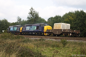Class 37 - 37609 + 37682 - Direct Rail Services