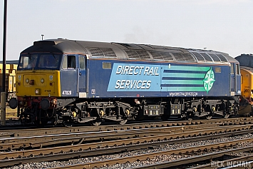 Class 47 - 47828 - Direct Rail Services