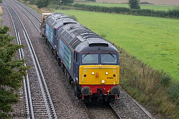 Class 57 - 57002 + 57003 - Direct Rail Services