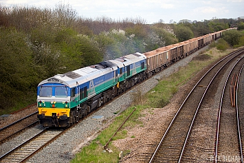 Class 59 - 59002 + 59005 - Aggregate Industries