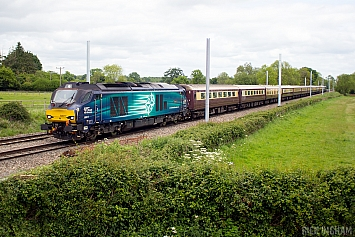 Class 68 - 68017 - Direct Rail Services