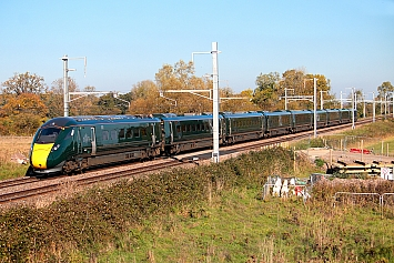 Class 800 IEP - 802101 - Great Western Railway