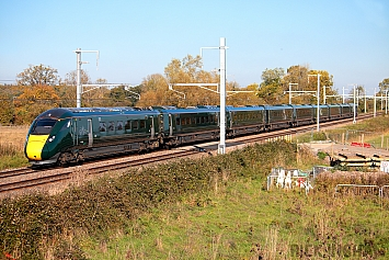 Class 800 IEP - 800309 - Great Western Railway