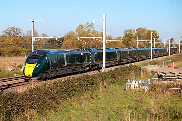 Class 800 IEP - 800308 - Great Western Railway