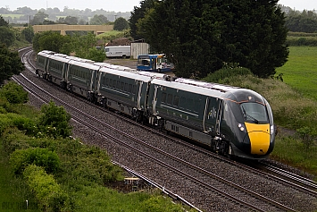 Class 800 IEP - 800004 - Great Western Railway