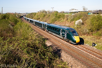 Class 800 IEP - 800015 - Great Western Railway