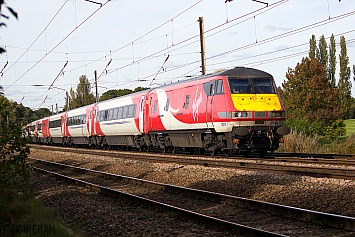 DVT - 82219 - Virgin Trains East Coast