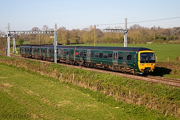 Class 166 Turbo - 166204 - Great Western Railway