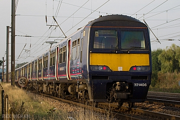 Class 321 - 321406 - First Capital Connect