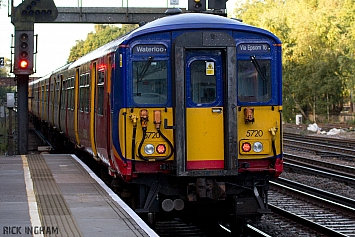 Class 455 - 455720 - Southwest Trains