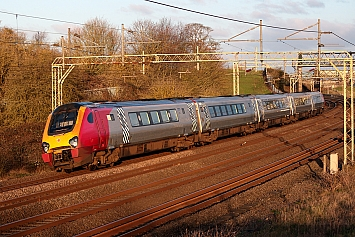 Class 221 Voyager - 221143 - Ex Virgin Trains