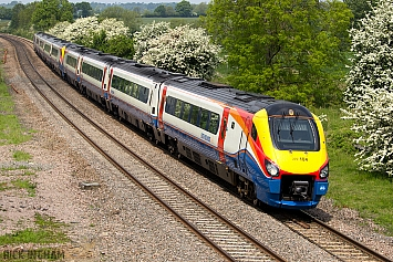 Class 222 Meridian - 222104 - East Midlands Trains