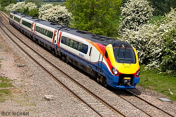 Class 222 Meridian - 222107 - East Midlands Trains