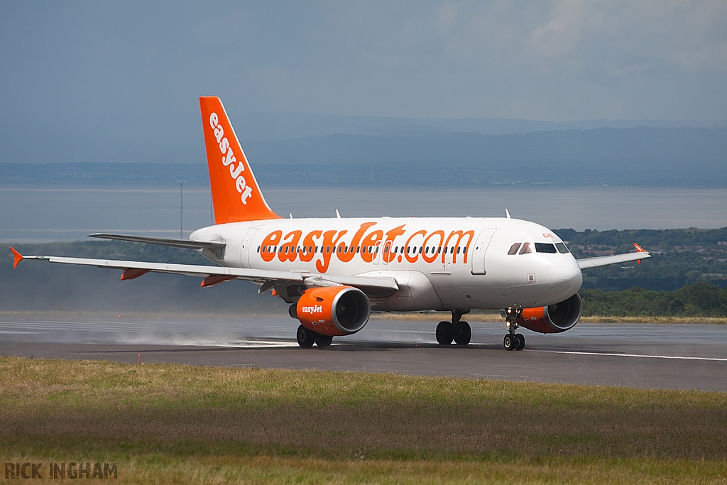 Airbus A319-111 - G-EZGN - EasyJet