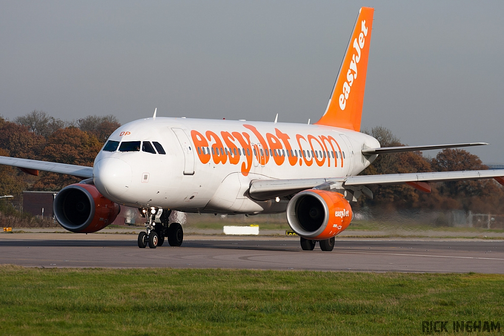Airbus A319-111 - G-EZDP - EasyJet