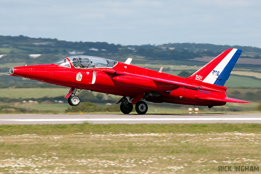 Hawker Siddeley Gnat T1 - G-TIMM/ XS111 - RAF/Red Arrows
