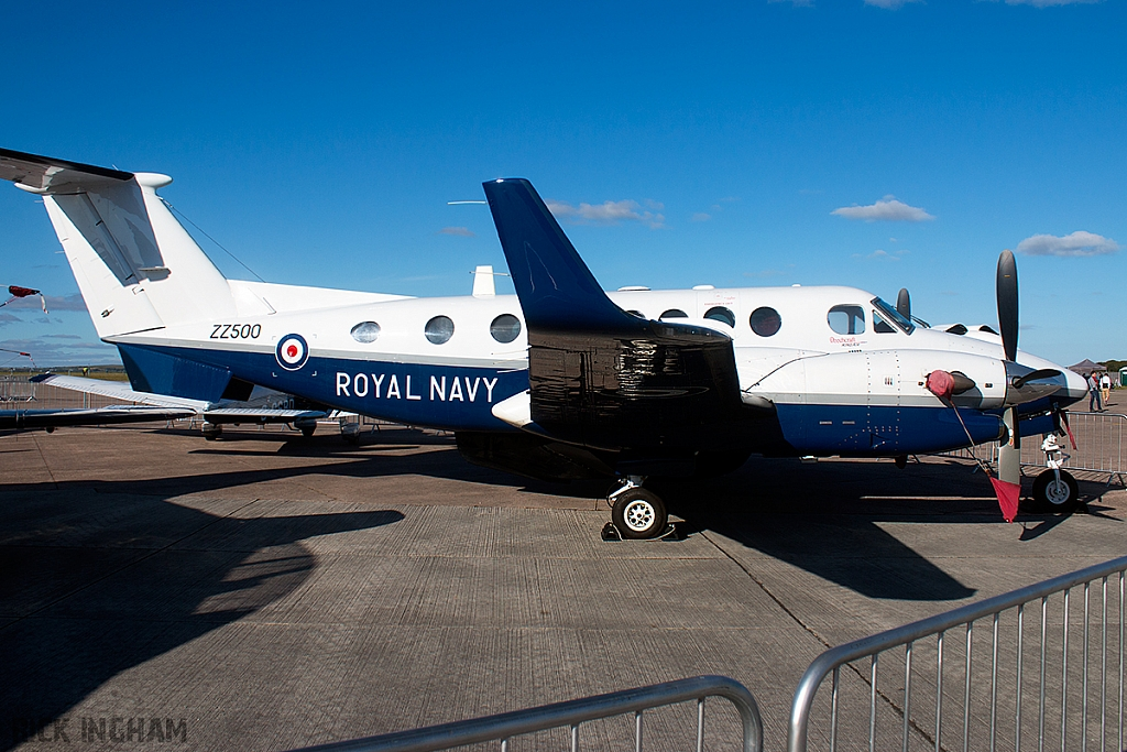 Beech King Air 350 Avenger - ZZ500 - Royal Navy