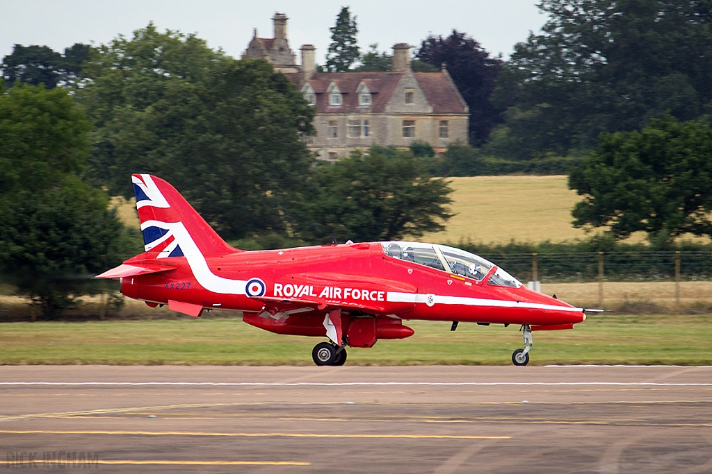 British Aerospace Hawk T1A - XX227 - The Red Arrows - RAF