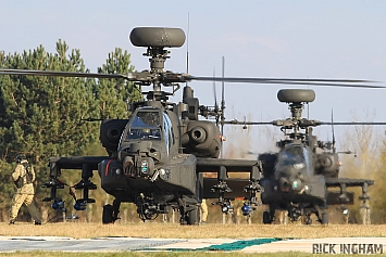 Westland Apache AH1 - ZJ211 and ZJ199 - AAC
