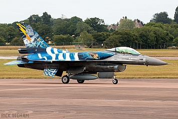 Lockheed Martin F-16C Fighting Falcon - 523 - Hellenic Air Force