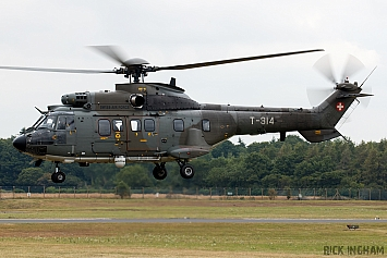 Aerospatiale AS-532UL Cougar - T-314 - Swiss Air Force