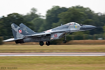 Mikoyan-Gurevich MiG-29A - 56 - Polish Air Force